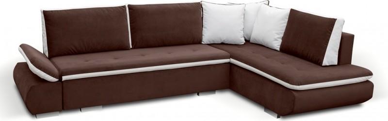 Corner Sofa Bed Argent