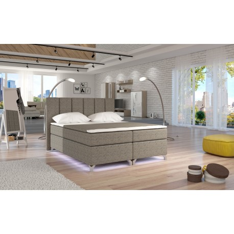 BASILIO BED WITH LED LIGHTS
