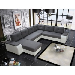 LONDON U CORNER SOFA BED