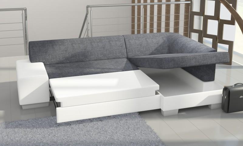 Fabio corner sofa bed Corner couch with sofa bed