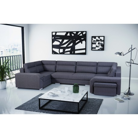 CORNER SOFA BED ALVARES U