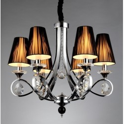 CRYSTAL CHANDELIER NEGRIO W6