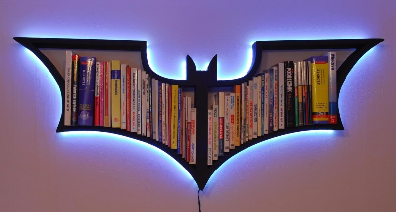 BATMAN BOOKSHELF : batman bookshelf from royaldeco.co.uk size 1200 x 800 jpeg 132kB