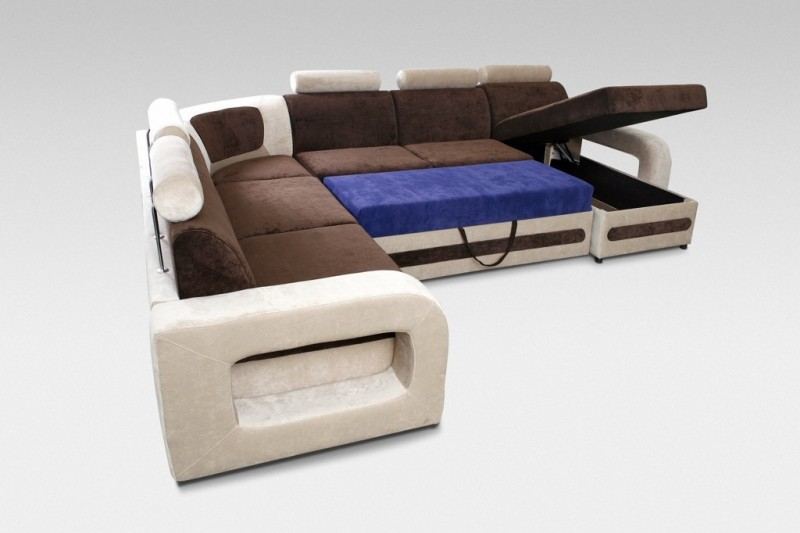 Corner sofa bed skipper c Corner couch with sofa bed