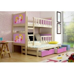 PINOKIO 3 BUNK BED