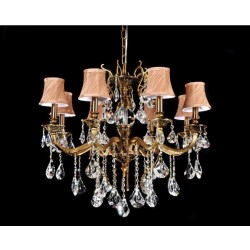CRYSTAL CHANDELIER LUSSINARE W8