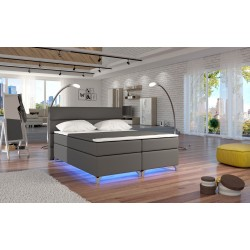 AMADEO BED WITH LED LIGHTS