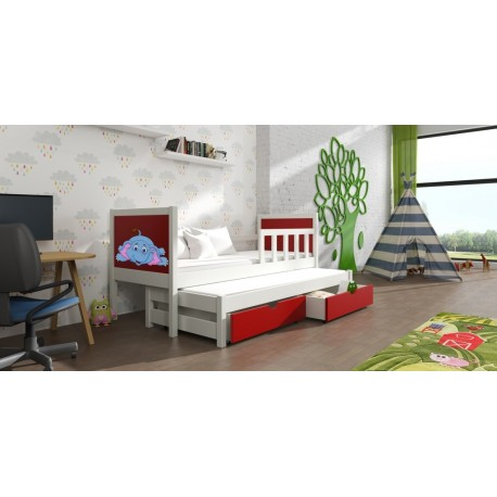 PINOKIO 4 CHILDREN'S BED