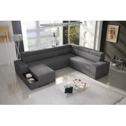 CORNER SOFA BED BONN W2