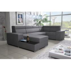CORNER SOFA BED BONN W3