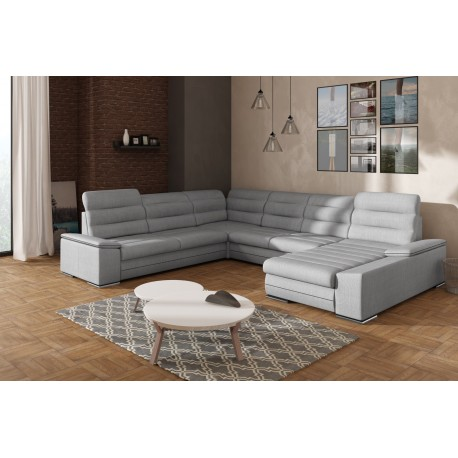 RUPOLO 2 CORNER SOFA BED