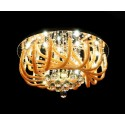 CEILING LAMP WITH CRYSTALS MAESTUS 600
