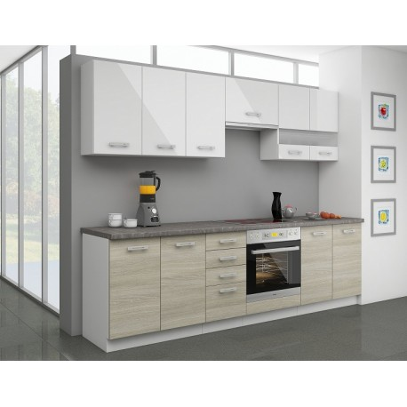 KITCHEN FURNITURE SET LATTE