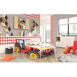 TRACTOR CHILDREN'S BED