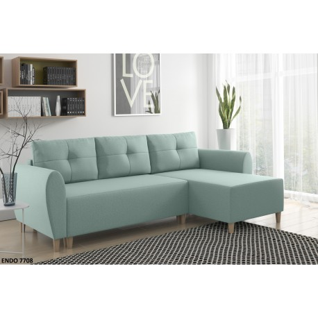 CORNER SOFA BED GLAM