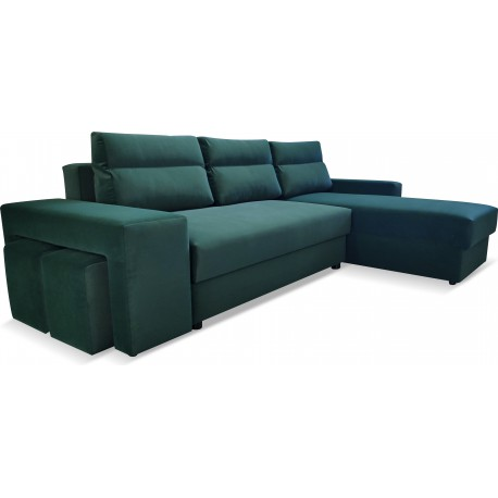 CORNER SOFA BED LUISA
