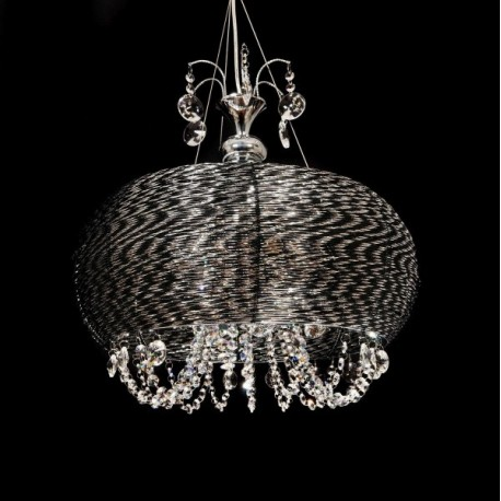 HANGING LAMP CRYSTAL SESILIA W4