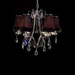 CHANDELIER CRYSTAL GLAMOUR W6
