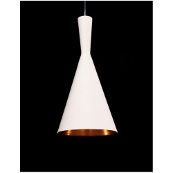 LAMPA INDUSTRIALNA FOGGI 12A BIAŁA