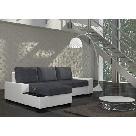 Negro Corner Sofa Bed