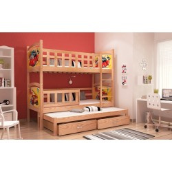 TAMI 3 BUNK BED