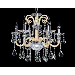 CRYSTAL CHANDELIER DENICA W6