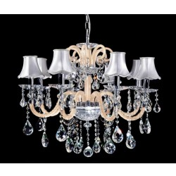 CRYSTAL CHANDELIER DENICA W8