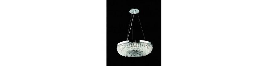 Lampy sufitowe kryształowe