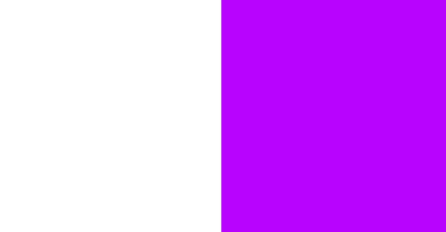 White / violet